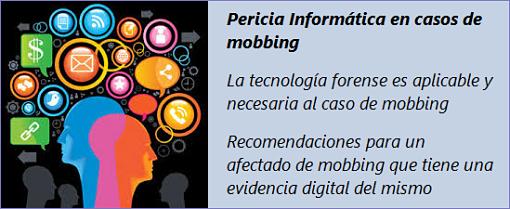 MobbingMadrid Recomendaciones al afectado de mobbing que tiene una evidencia digital de su acoso