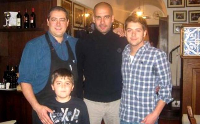 The fc Barcelona Coach Pep