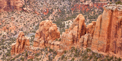 Colorado National Monument - Squaw Fingers
