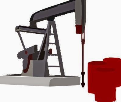 Pompa angguk pada sumur minyak
