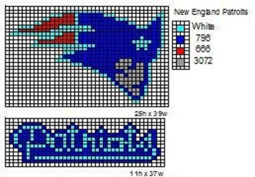 Crochet Fanatic Nfl Logos And Name Plates