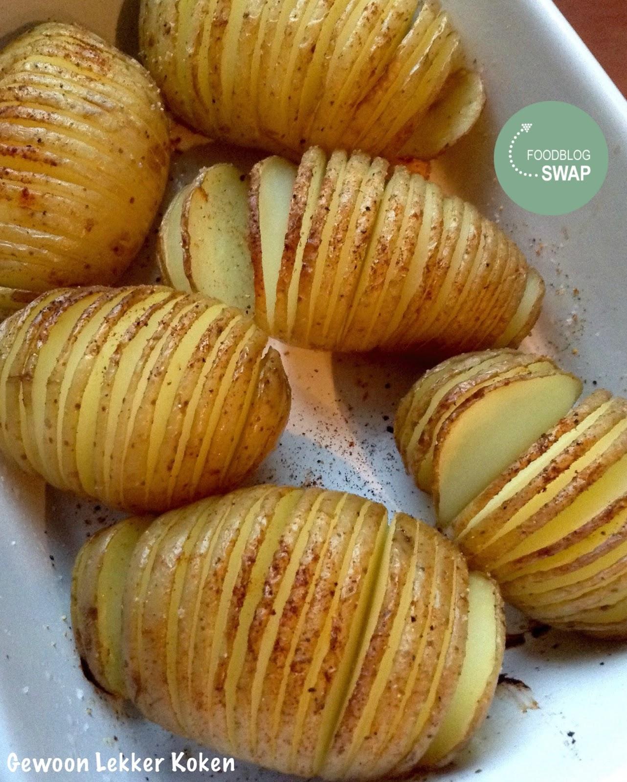 aardappels met schil koken