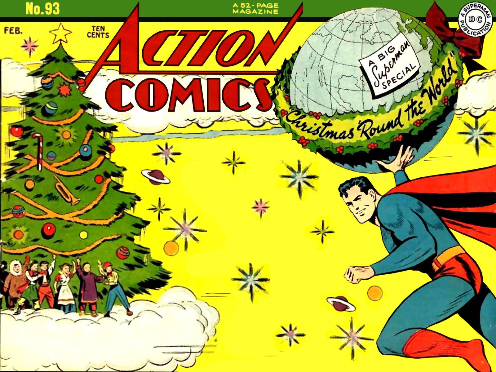 Bloody Pit of Rod: DC Comics Says Merry Christmas!