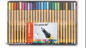 Enjoy my mandalas paint with these best pens by Stabilo.
