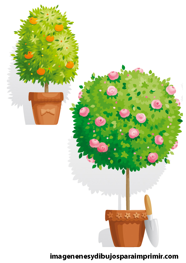 Dibujos de macetas para imprimir imagenes y dibujos para for Imagenes de plantas en macetas