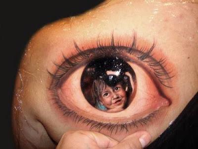 Tatuagens Femininas de Olho