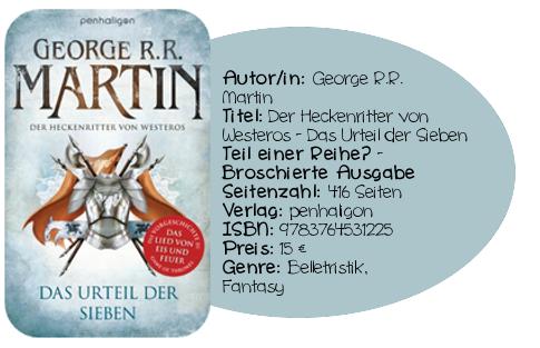 http://www.amazon.de/Der-Heckenritter-von-Westeros-Urteil/dp/3764531223/ref=sr_1_1?ie=UTF8&qid=1384698416&sr=8-1&keywords=Der+heckenritter+von+Westeros