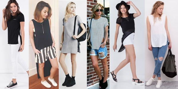 Outifts Looks Inspiration With Elongated and Blouses With Cracks .