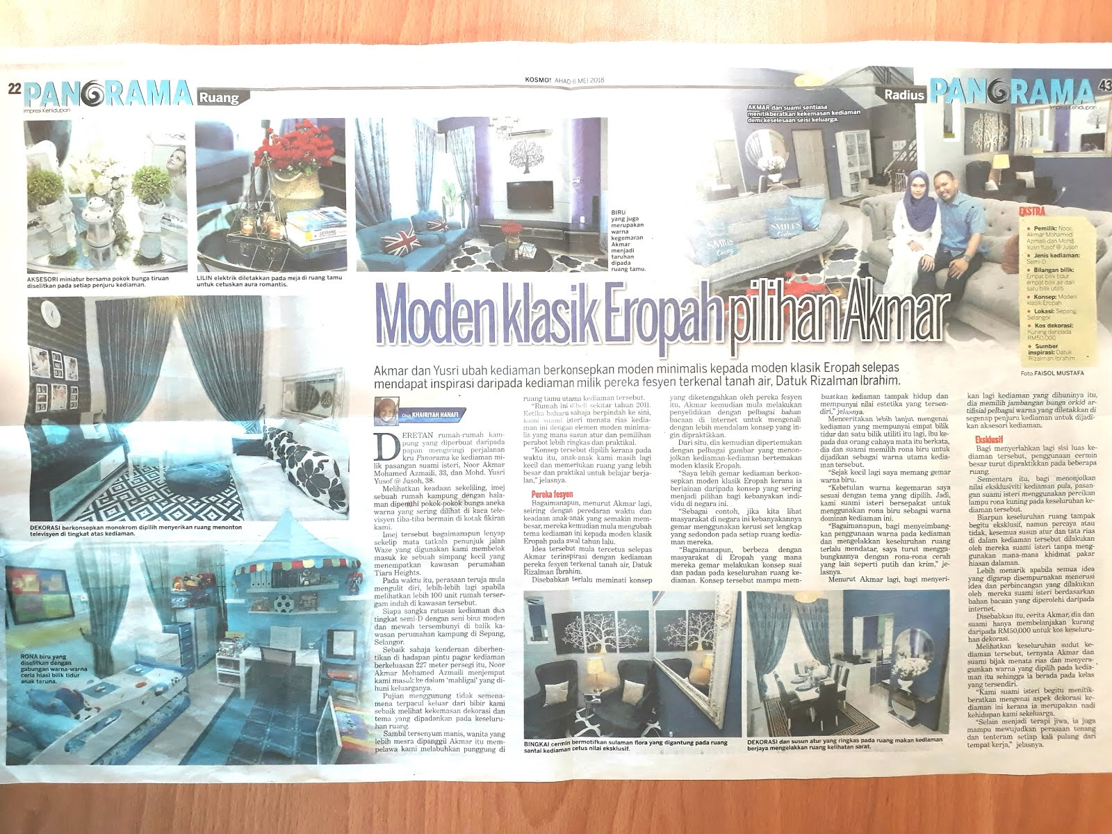 FEATURED in Kosmo! Ahad