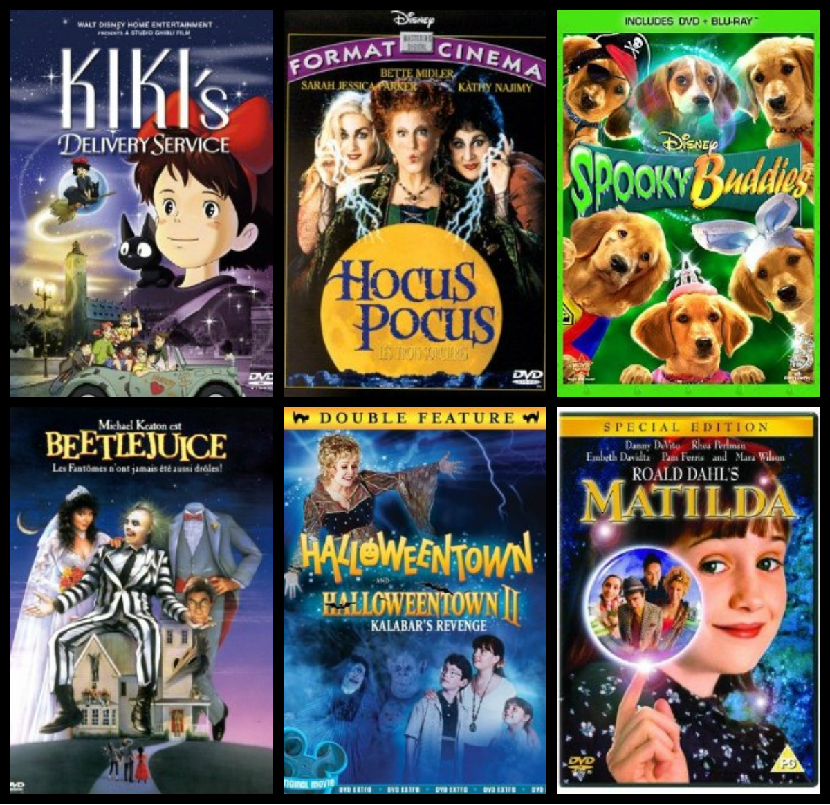 22 Not-So-Freaky Scary Movies For Kids | Just The Two Of Us