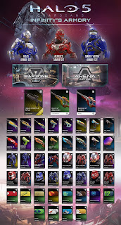 This Week In Videogames 24/01/2016 halo 5 infinity's armoury armory infographic