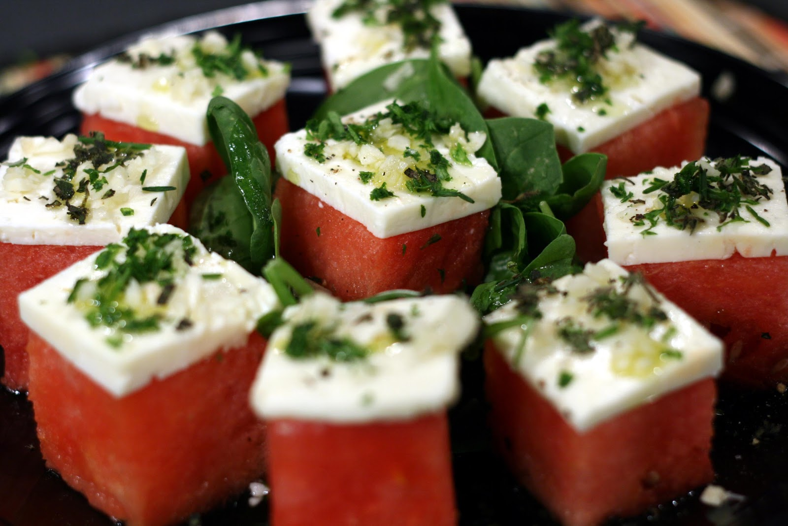 Displaying 20> Images For - Watermelon Feta Salad Recipe...