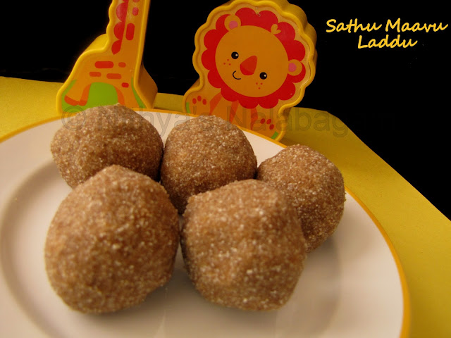 Health Mix Laddu