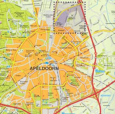 Maps of Netherlands HollandCitiesTourist Apeldoorn City Map Pictures