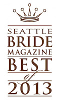 A Heavenly Ceremony, Seattle Wedding Officiants - Finalist in Seattle Bride Magazine Best of 2013 Poll