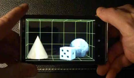 HoloPhone 3D App for Windows Phone 7