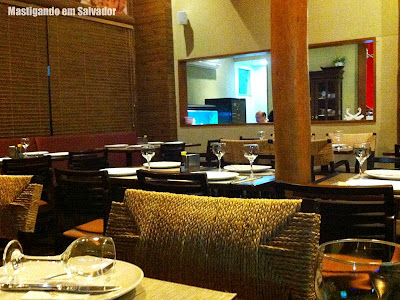 Restaurante Taisan: Ambiente interno