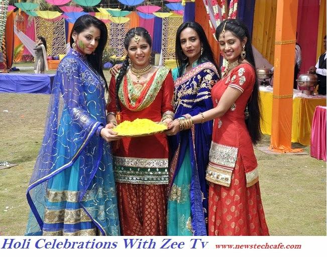 Holi celebrations By Zee tv