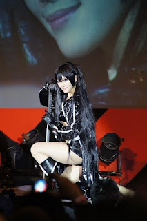 Aira cosplay as Black Rock Shooter