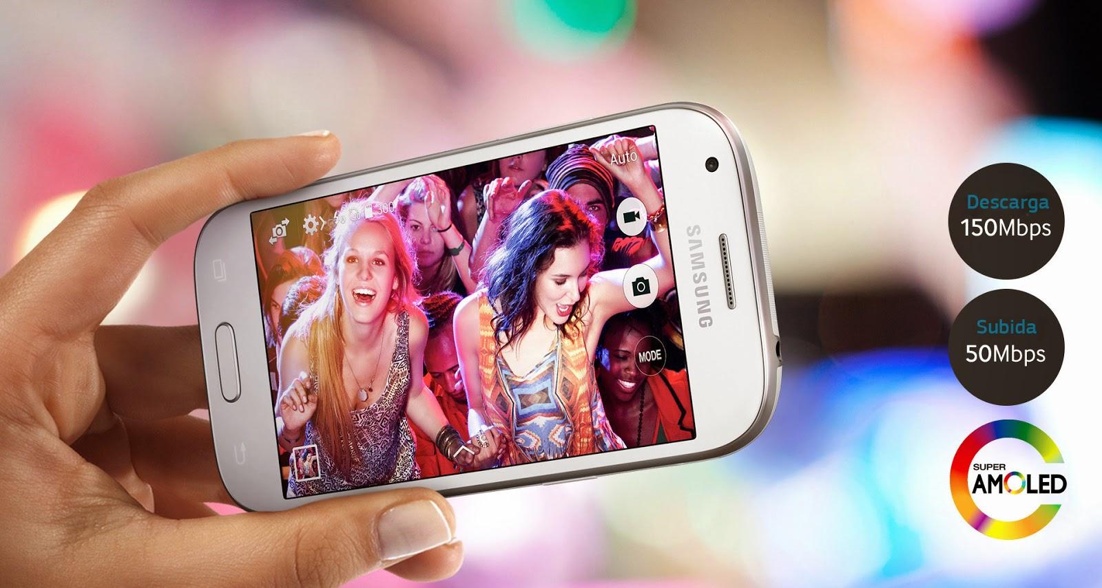 Características técnicas Samsung Galaxy Ace 4 3G