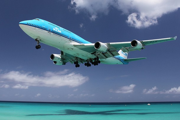 Plane Spotting at Maho Beach, Saint Martin