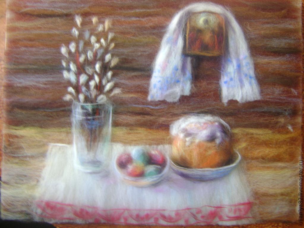 Картина на пасху