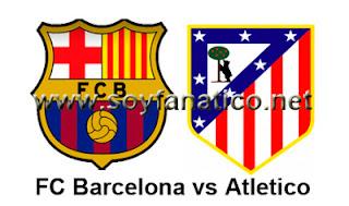 Barcelona vs Atlético Madrid - Supercopa 2013