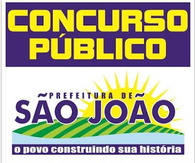concurso prefeitura de São João