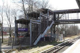 La station de S-Bahn de Berlin-Marzahn