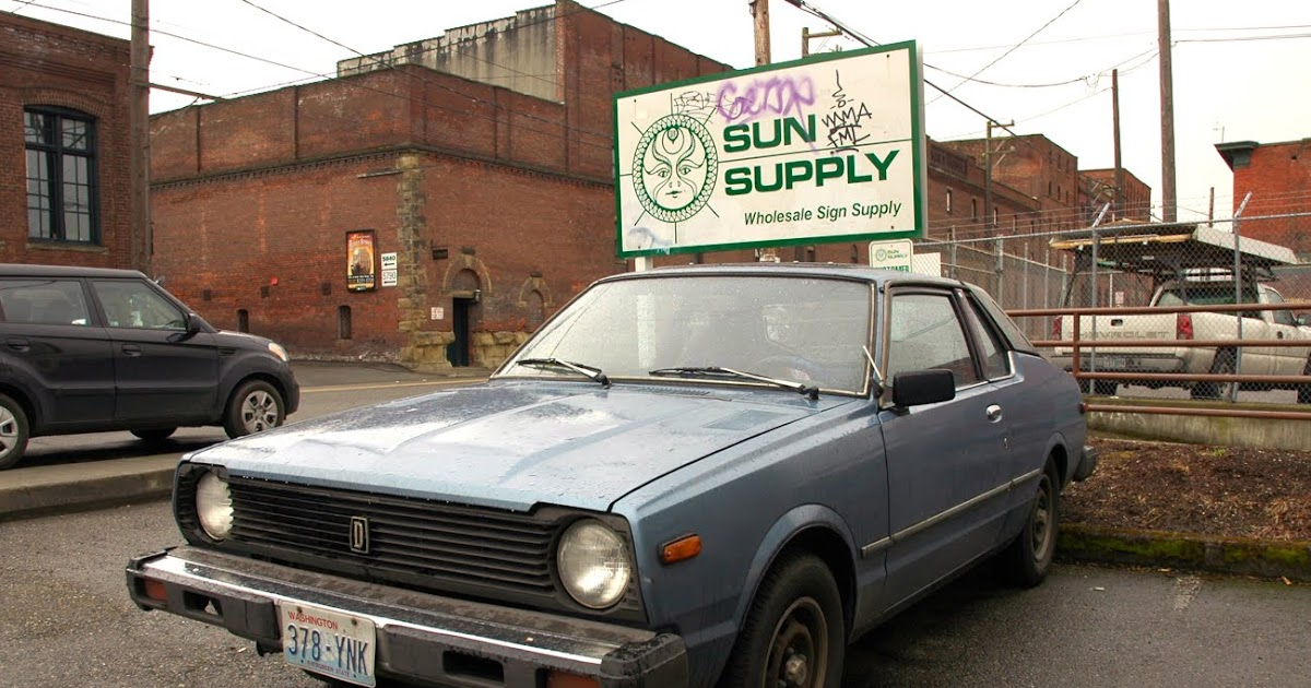 OLD PARKED CARS 1979 Datsun 310GX