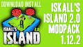 HOW TO INSTALL<br>Iskall&#39;s Island 2.0 Modpack [<b>1.12.2</b>]<br>▽