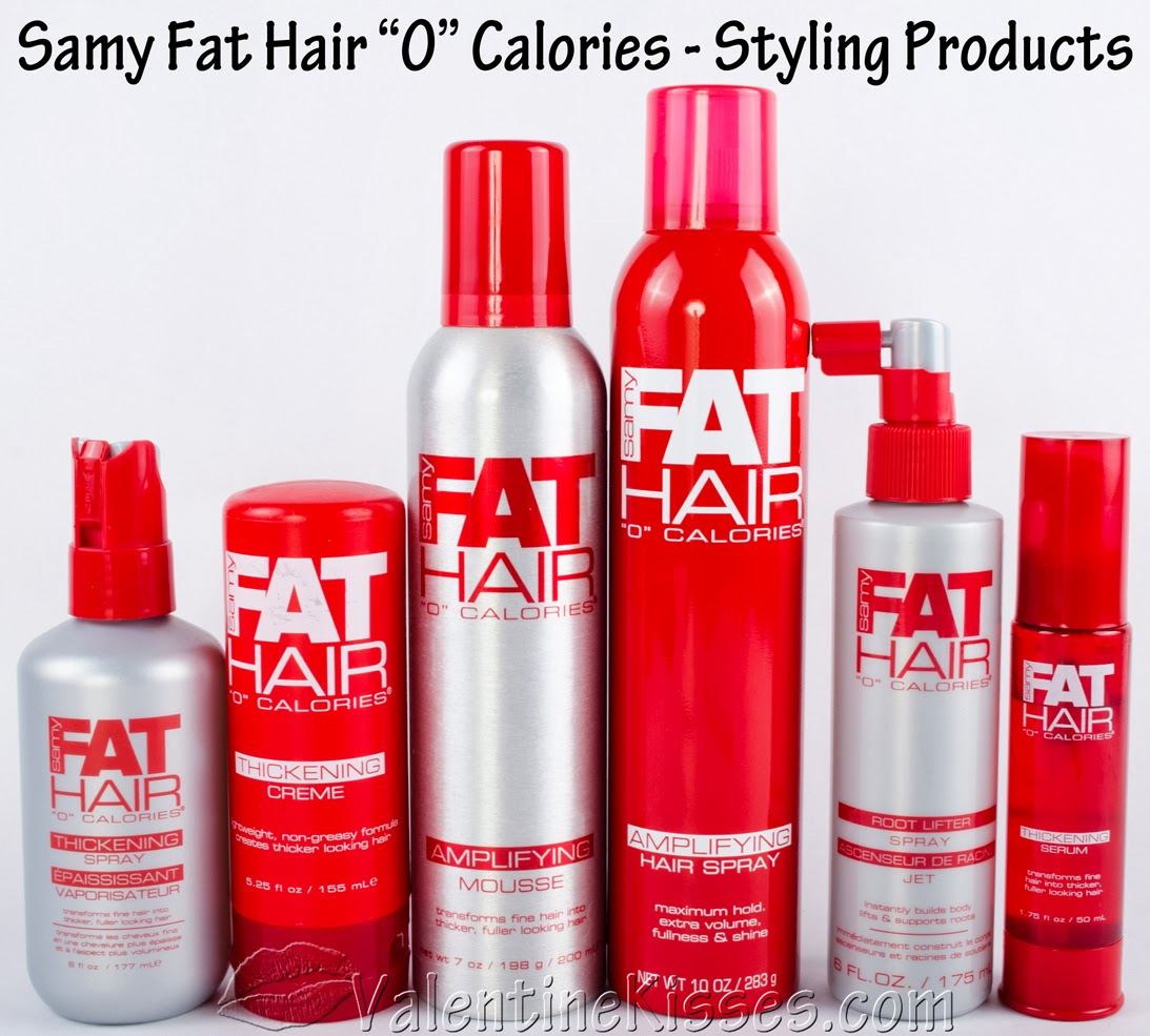 Valentine Kisses: Samy Fat Hair \u0026quot;0\u0026quot; Calories hair care