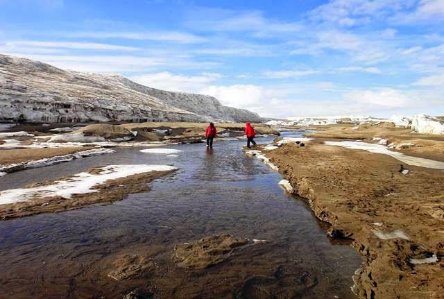 Antarctica freshwater