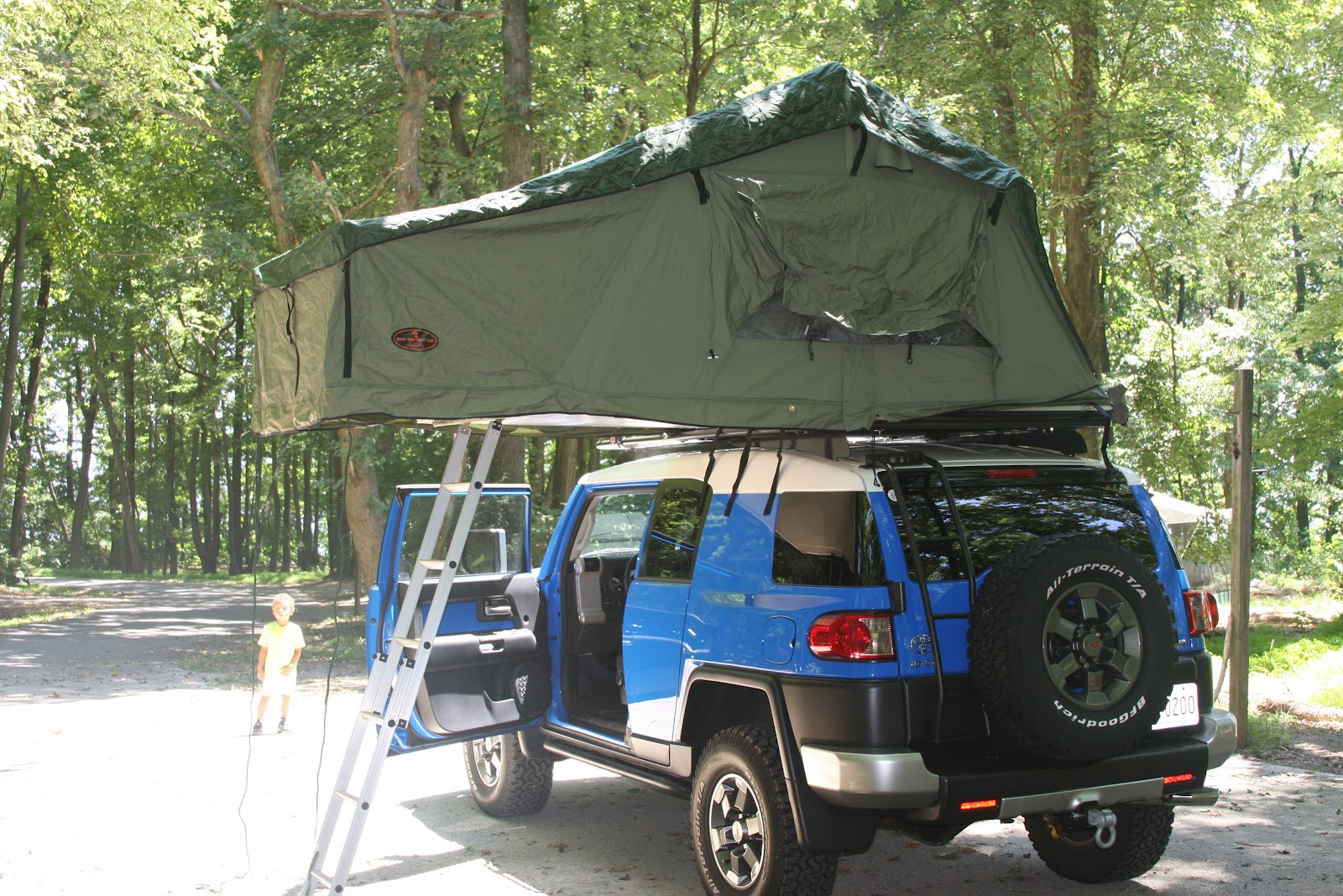 My Fj Cruiser Roof Top Tent