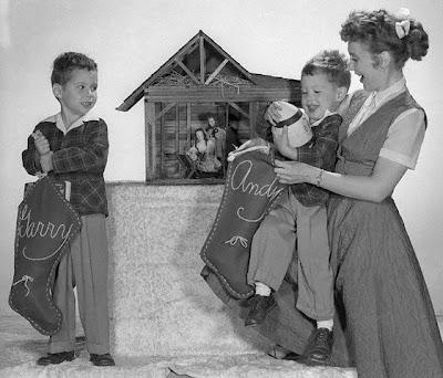 Betty Garrett y sus hijos