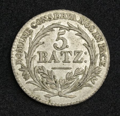 Switzerland coins Swiss Batzen silver coin money currency