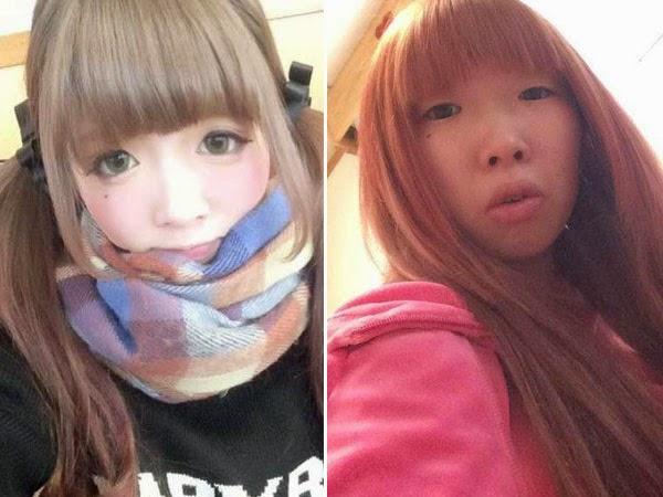 Gadis Ini Diputus Pacarnya Karena Wajah Aslinya Tanpa Make Up