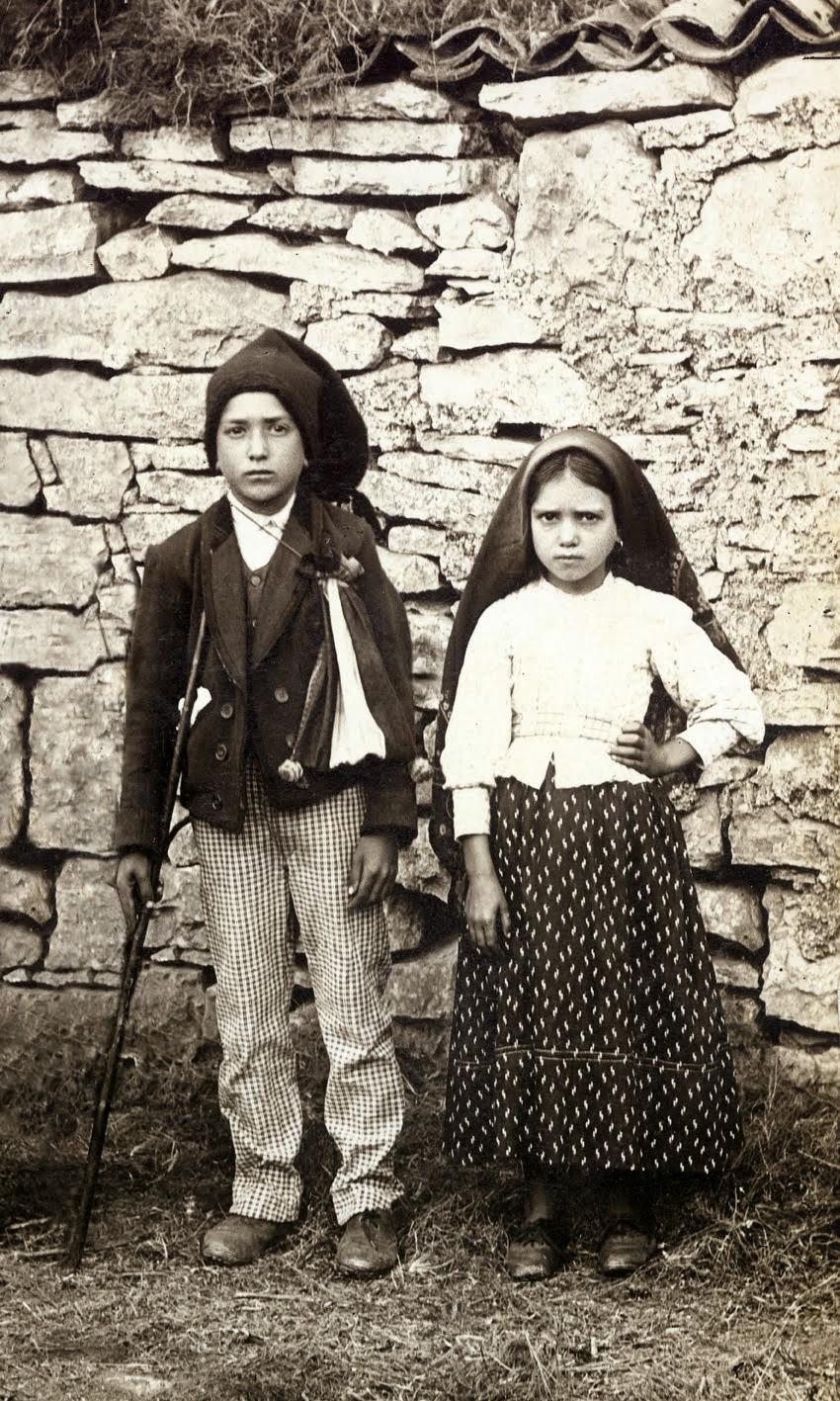 Francisco e Jacinta Marto