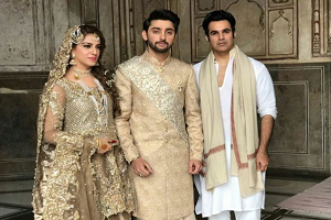Wedding pictures of Amanat Ali