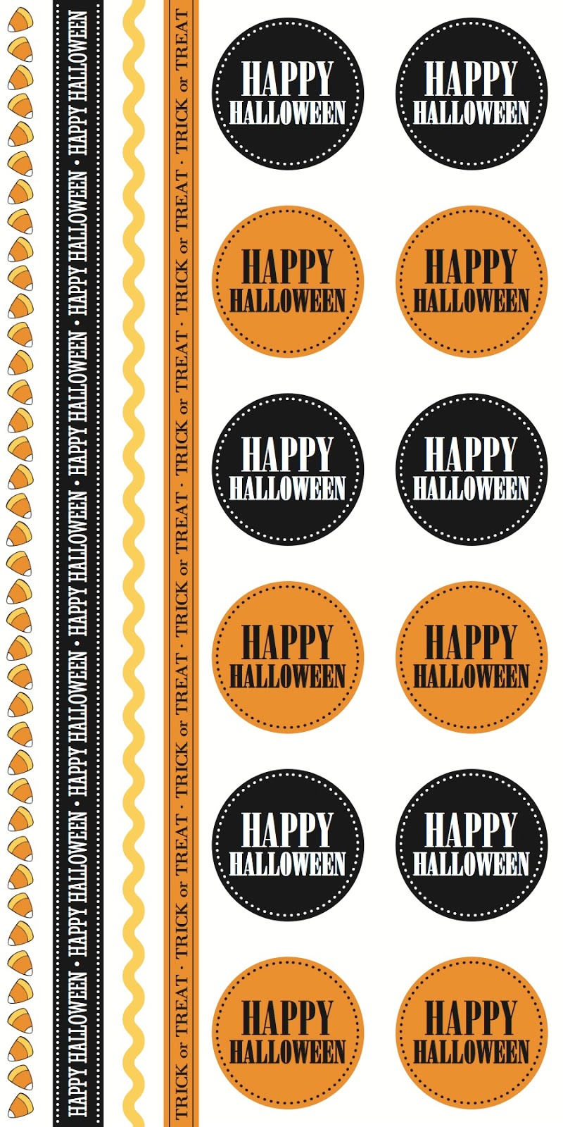 SRM Stickers BLog - New Product Reveal Stickers - #stickers #Take2 #Halloween