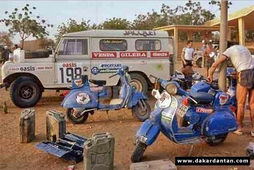 Vespa Paris Dakar 13