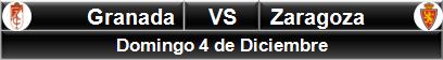 Granada vs Zaragoza