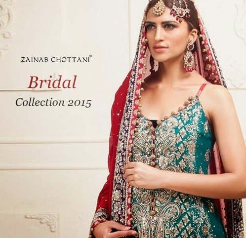 Zainab Chottani Bridal Collection 2015-2016 | Pakistani Bridal Suits by Zainab Chottani | She ...