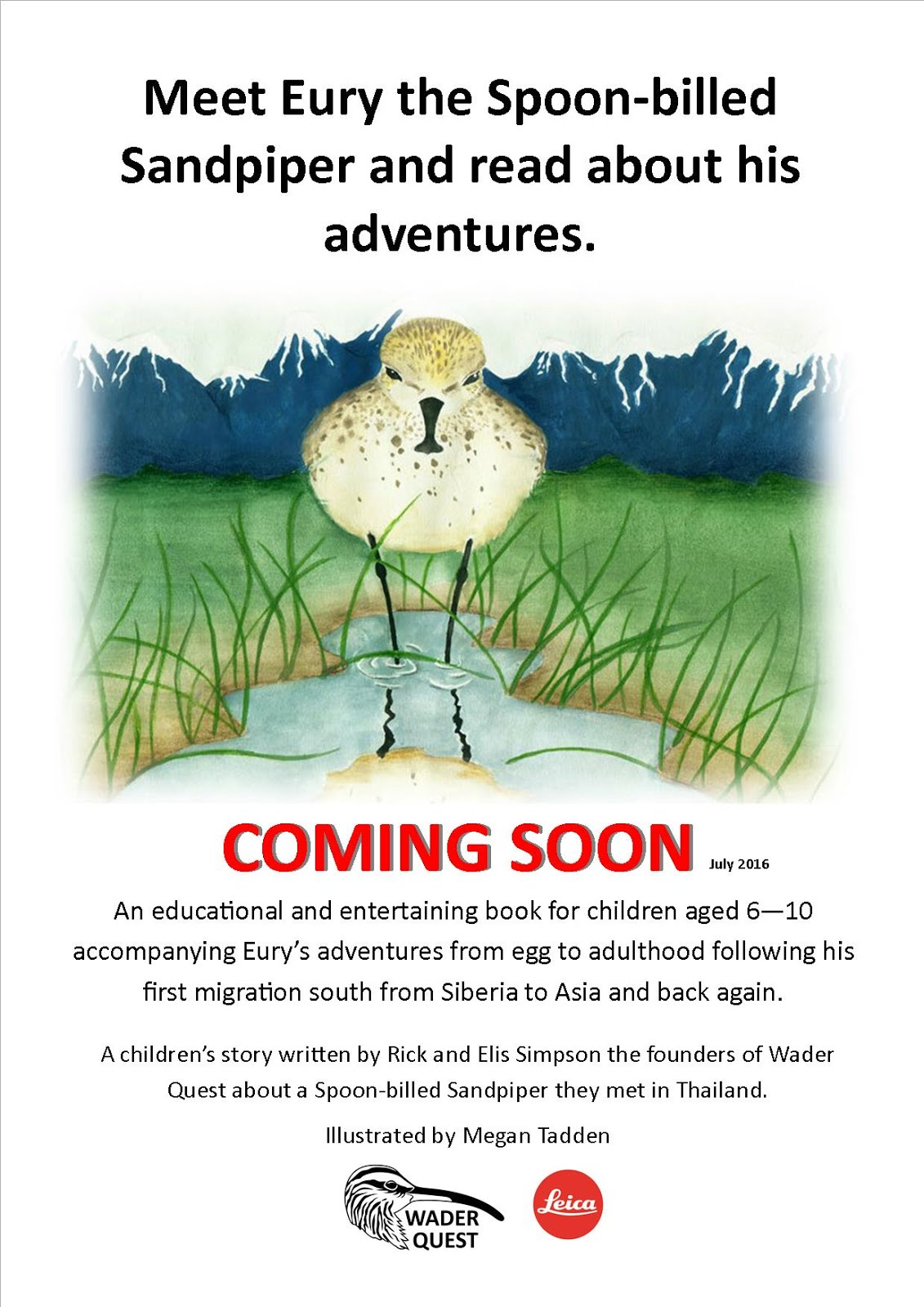 Wader Quest Publishing news: