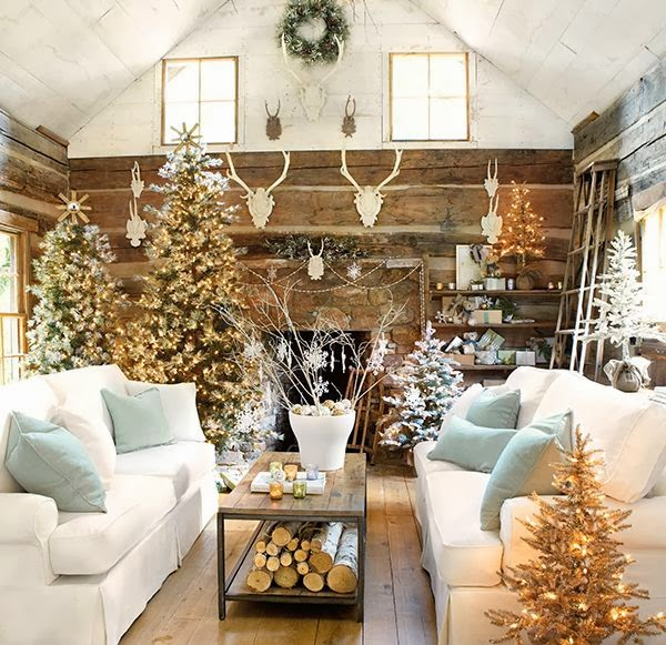 Beautiful Christmas Decorations For Your Living Room: Katherine's Stories