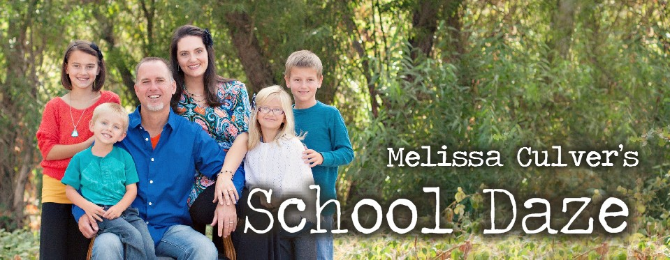 Melissa  Culver's School Daze