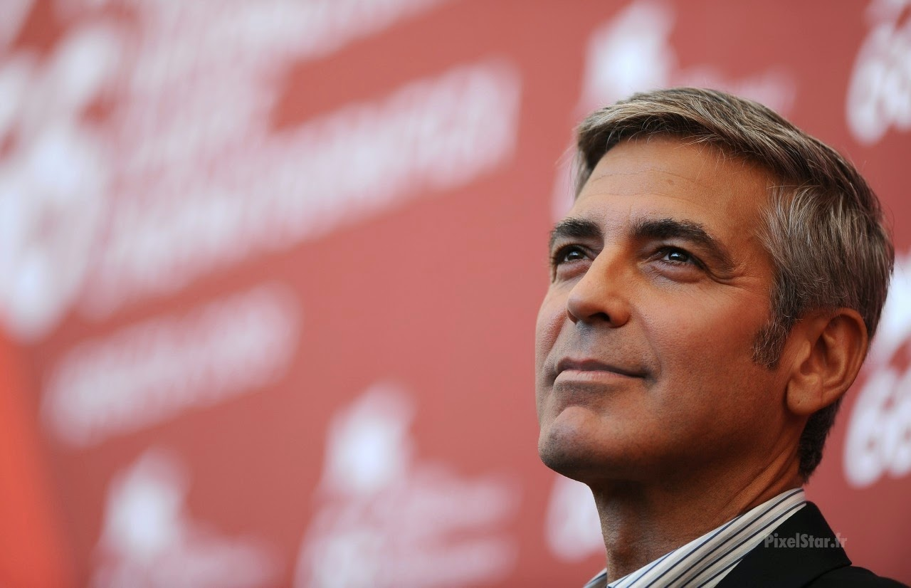 Wide Wallpaper Movie Actor George Clooney
