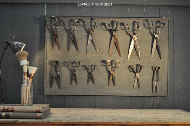 collection of scissors