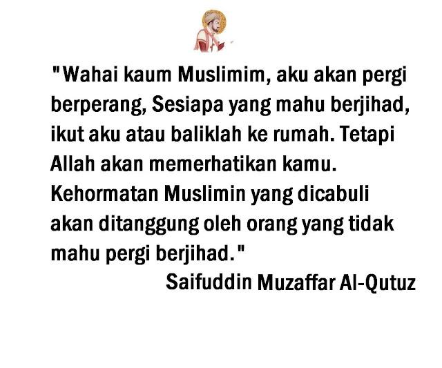 Kata-Kata Hikmah Saifuddin Muzaffar Al-Qutuz