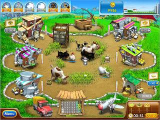 لعبة المزرعة السعيدة اون لاين